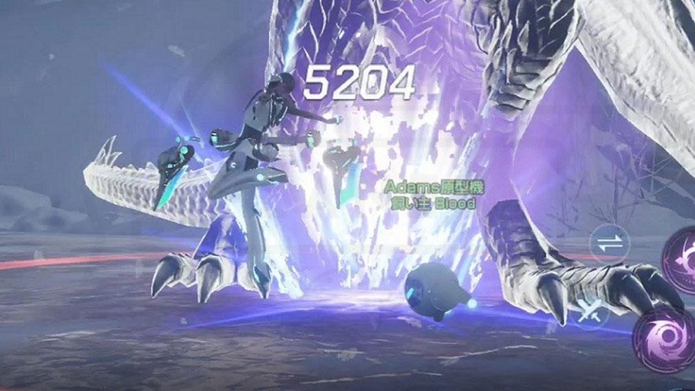 コードドラゴンブラッド(CODE D-Blood)ドラブラ スキル攻撃スクリーンショット