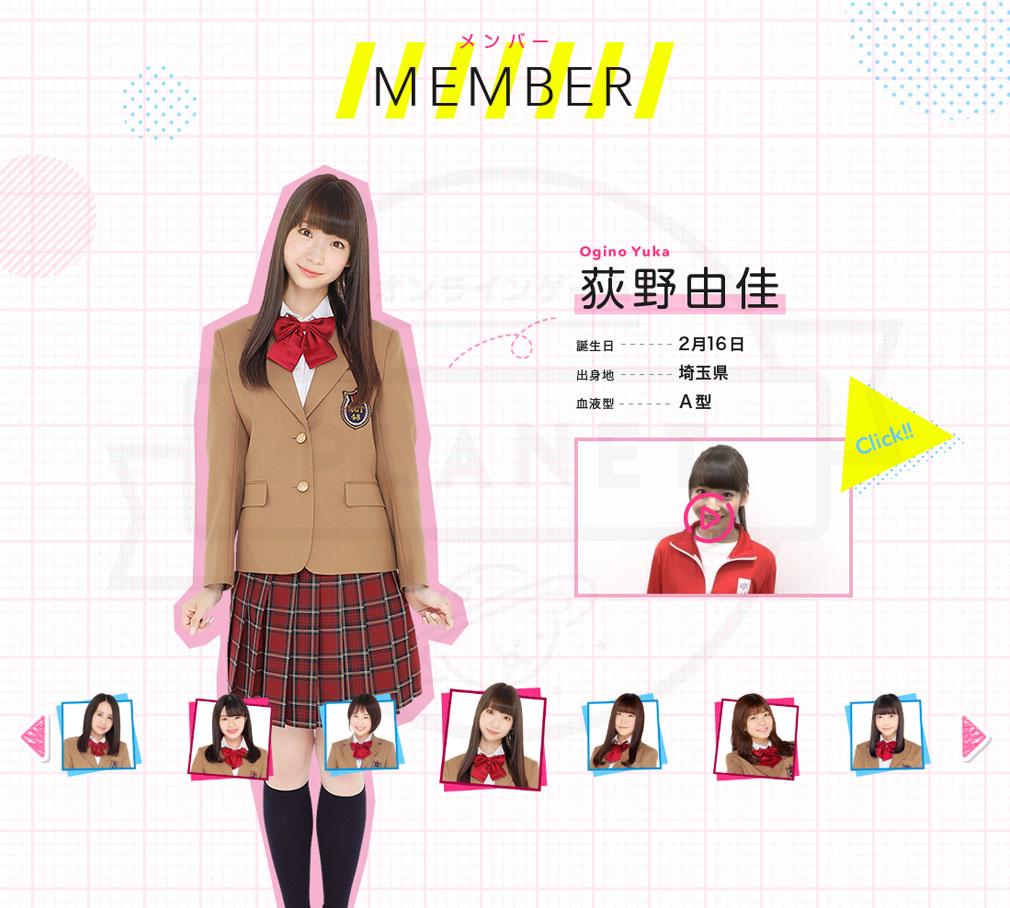 NGT48物語 一期生メンバーによるキャプチャーイメージ