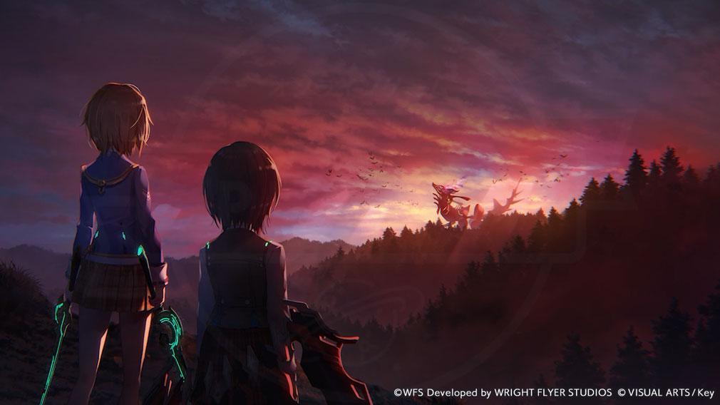"""Heaven Burns Red(ヘブン バーンズ レッド)ヘブバン 謎の生命体『キャンサー』との戦いが繰り広げられる""""地球""""スクリーンショット"""