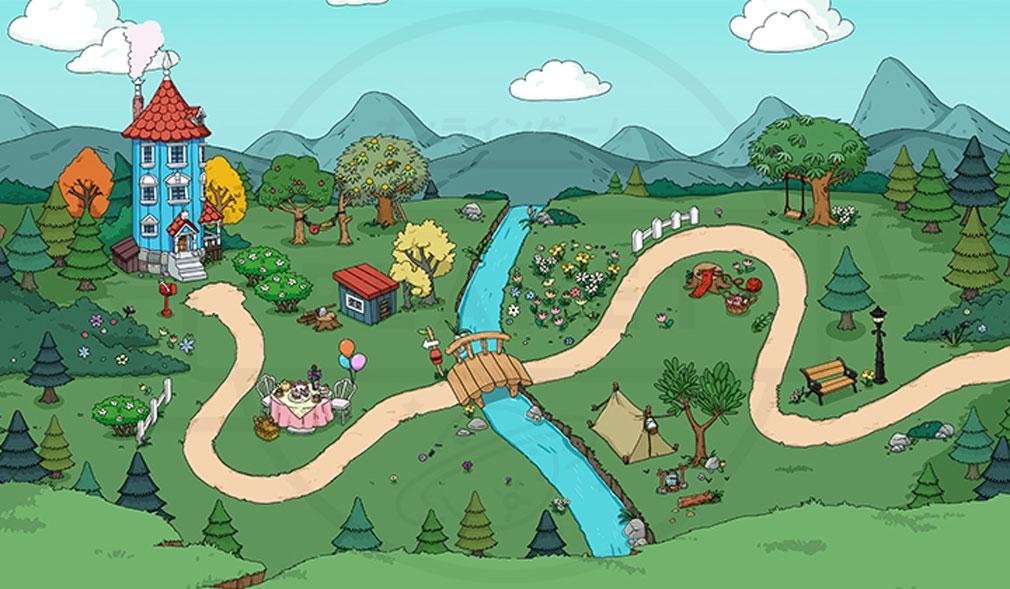 ムーミンフレンズ ムーミン谷の世界観紹介イメージ