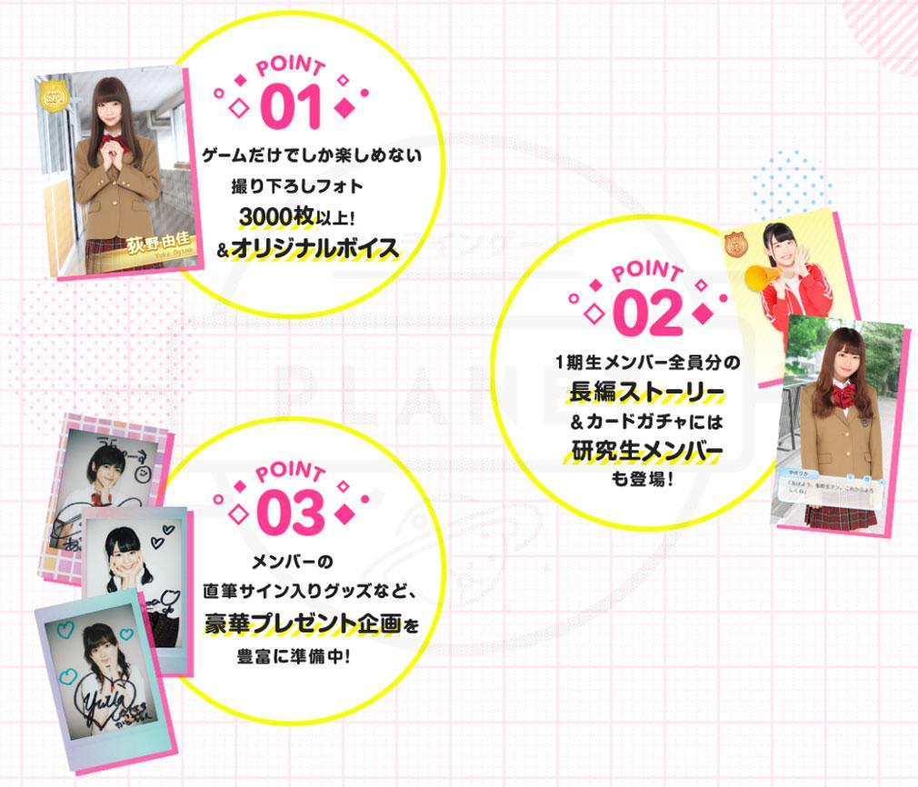 NGT48物語 特徴紹介イメージ