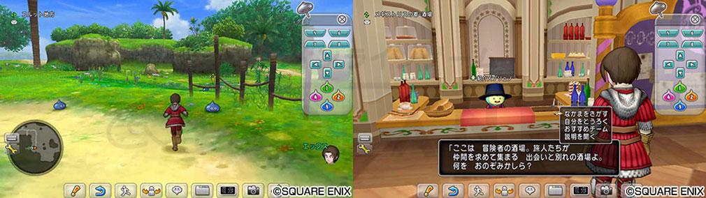 ドラゴンクエストX オンライン(DQX DQ10 ドラクエX ドラクエ10) ブラウザ版スクリーンショット