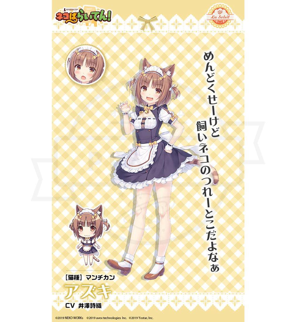 ネコぱらいてん! 擬人化ネコキャラクター『アズキ』紹介イメージ