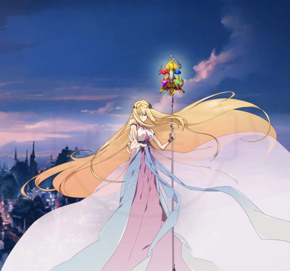 ロストストーンズ 女神の輝石(ロススト) 創造の女神『アヤ/AYA』紹介イメージ