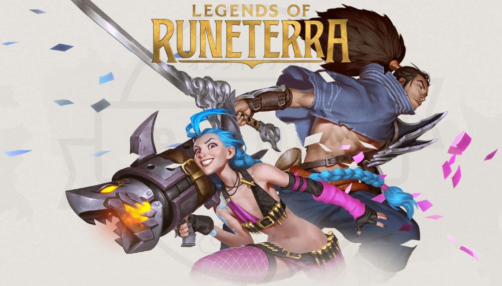 レジェンドオブルーンテラ(Legends of Runeterra)LoR キービジュアル