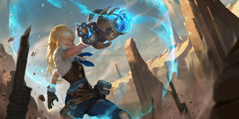 レジェンドオブルーンテラ(Legends of Runeterra)LoR 『ピルトーヴァー&ゾウン』紹介イメージ
