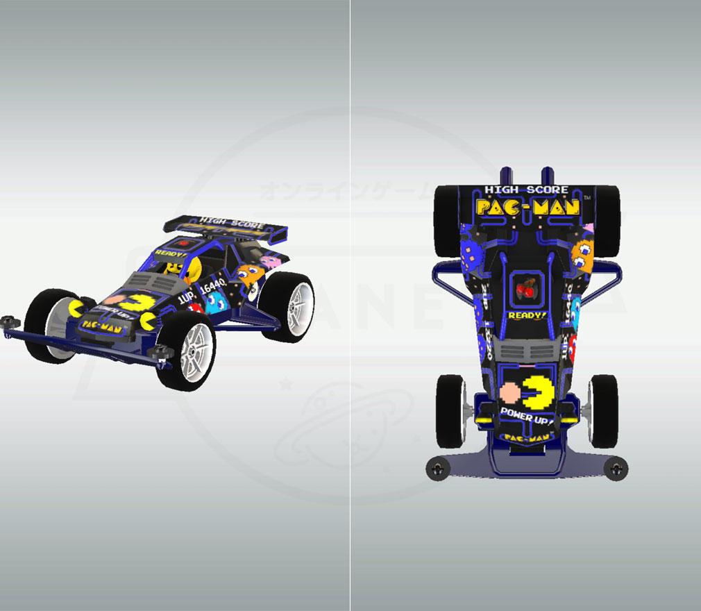 ミニ四駆 超速グランプリ(超速GP) 『パックマンボディ』スクリーンショット