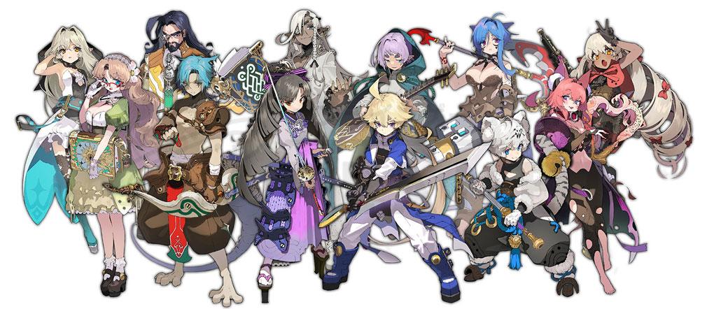 マチガイブレイカー Re Quest(リクエスト)マチブレ 色々な賢者紹介イメージ