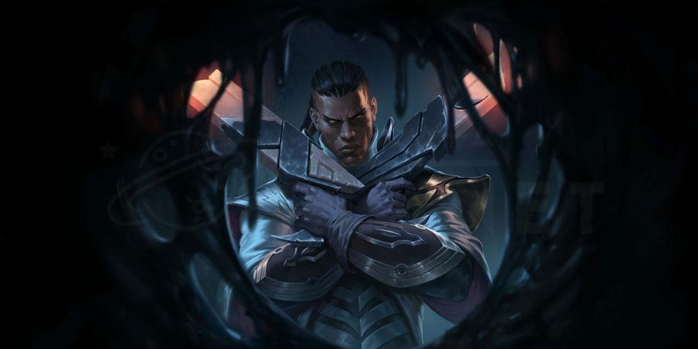 レジェンドオブルーンテラ(Legends of Runeterra)LoR チャンピオン『デマーシア-ルシアン』紹介イメージ