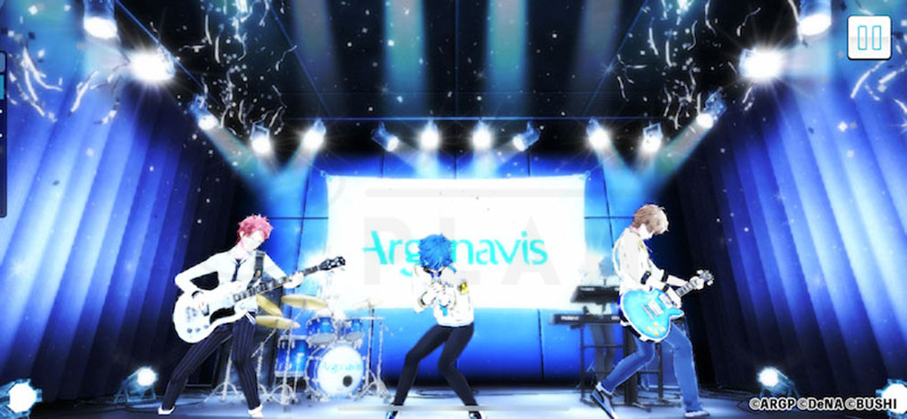 アルゴナビス from BanG Dream!AAside(ダブルエーサイド) ライブパートスクリーンショット