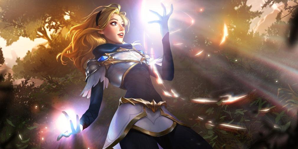 レジェンドオブルーンテラ(Legends of Runeterra)LoR チャンピオン『デマーシア-ラックス』紹介イメージ