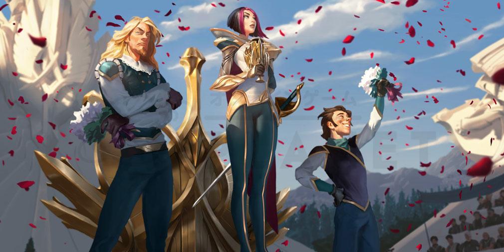 レジェンドオブルーンテラ(Legends of Runeterra)LoR チャンピオン『デマーシア-フィオラ』紹介イメージ