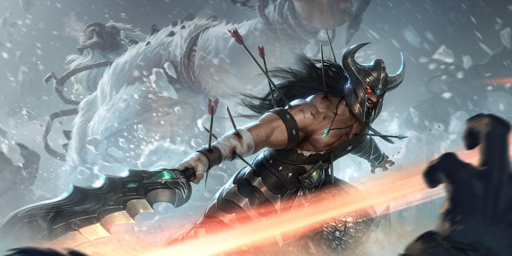 レジェンドオブルーンテラ(Legends of Runeterra)LoR チャンピオン『フレヨルド-トリンダメア』紹介イメージ