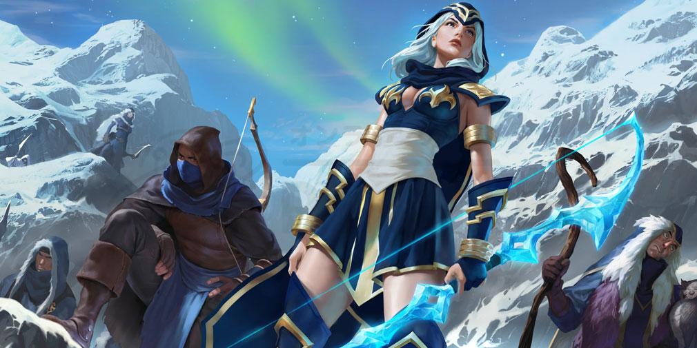 レジェンドオブルーンテラ(Legends of Runeterra)LoR チャンピオン『フレヨルド-アッシュ』紹介イメージ