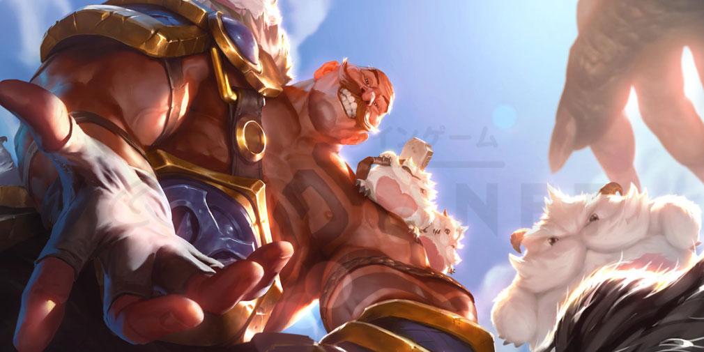 レジェンドオブルーンテラ(Legends of Runeterra)LoR チャンピオン『フレヨルド-ブラウム』紹介イメージ