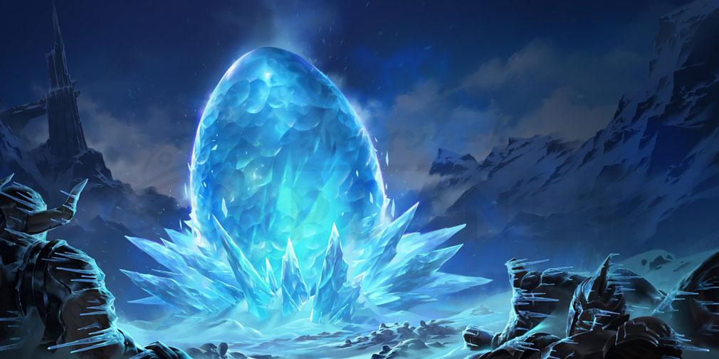 レジェンドオブルーンテラ(Legends of Runeterra)LoR チャンピオン『フレヨルド-アニビア(卵)』紹介イメージ