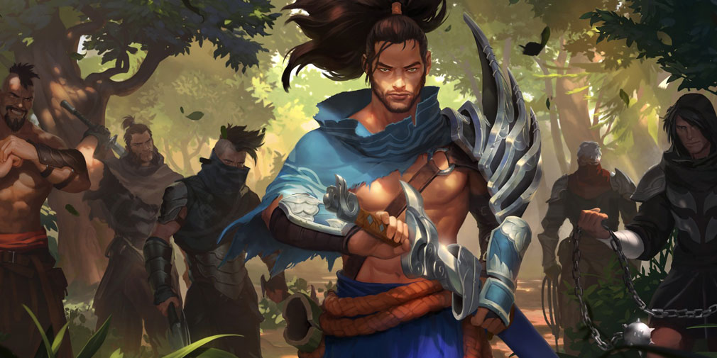 レジェンドオブルーンテラ(Legends of Runeterra)LoR チャンピオン『アイオニア-ヤスオ』紹介イメージ