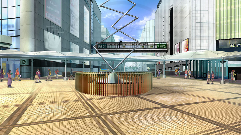 BATON=RELAY(バトンリレー) 駅広場紹介イメージ