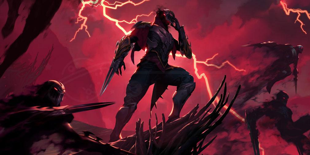 レジェンドオブルーンテラ(Legends of Runeterra)LoR チャンピオン『アイオニア-ゼド』紹介イメージ