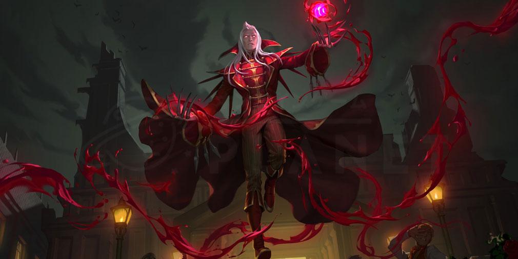 レジェンドオブルーンテラ(Legends of Runeterra)LoR チャンピオン『ノクサス-ブラッドミア』紹介イメージ