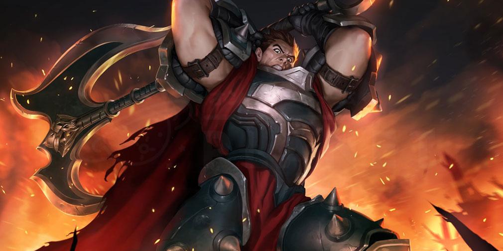 レジェンドオブルーンテラ(Legends of Runeterra)LoR チャンピオン『ノクサス-ダリウス』紹介イメージ