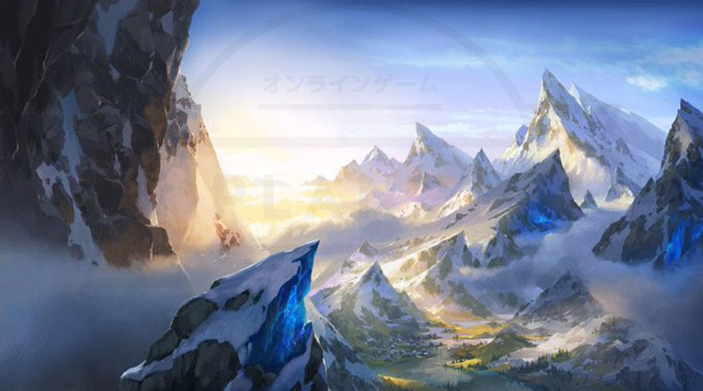 レジェンドオブルーンテラ(Legends of Runeterra)LoR 地域『フレヨルド』紹介イメージ