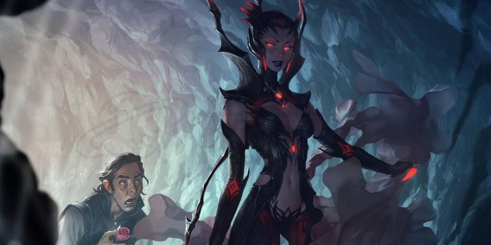 レジェンドオブルーンテラ(Legends of Runeterra)LoR チャンピオン『シャドウアイル-エリス』紹介イメージ