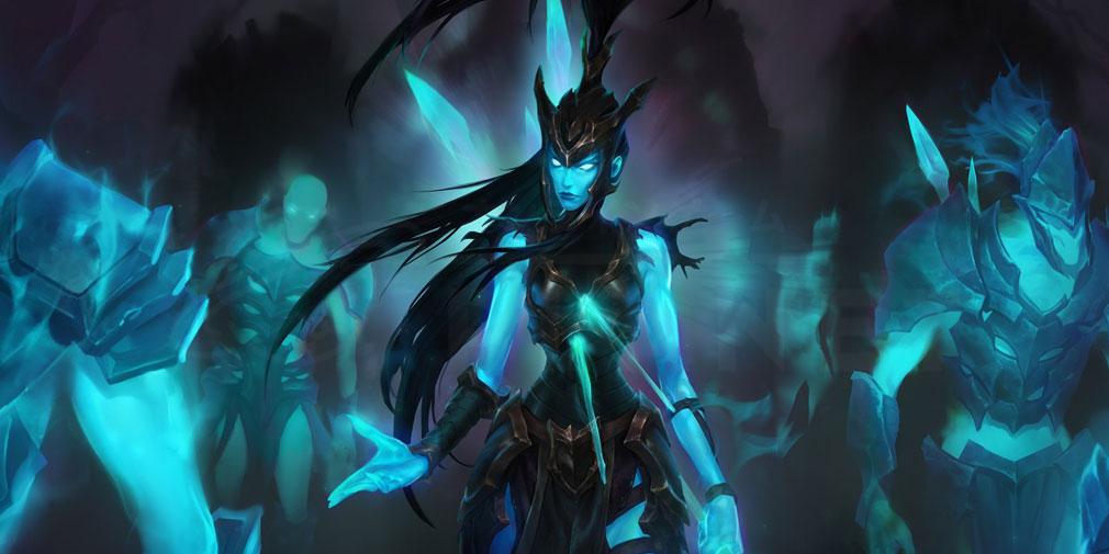 レジェンドオブルーンテラ(Legends of Runeterra)LoR チャンピオン『シャドウアイル-カリスタ』紹介イメージ