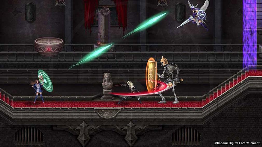 悪魔城ドラキュラ Grimoire of Souls(ドラキュラGoS) 多彩なバトルスタイルスクリーンショット