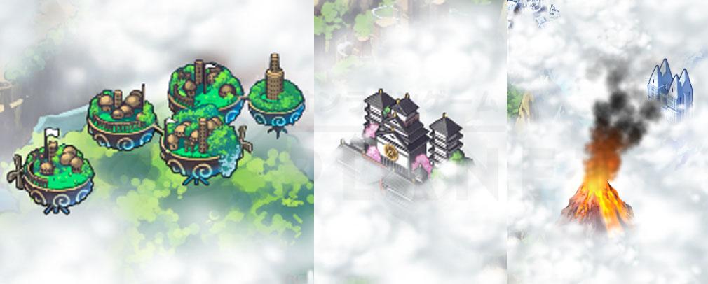マチガイブレイカー Re Quest(リクエスト)マチブレ 各エリアの特徴あるオブジェクト紹介イメージ