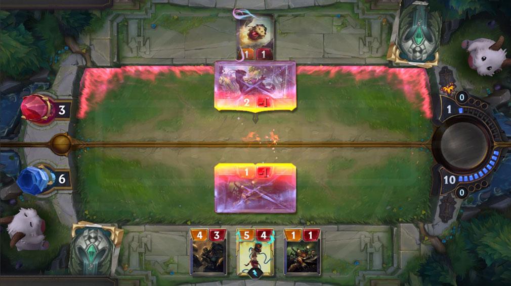 レジェンドオブルーンテラ(Legends of Runeterra)LoR LoLのカードバトルスクリーンショット