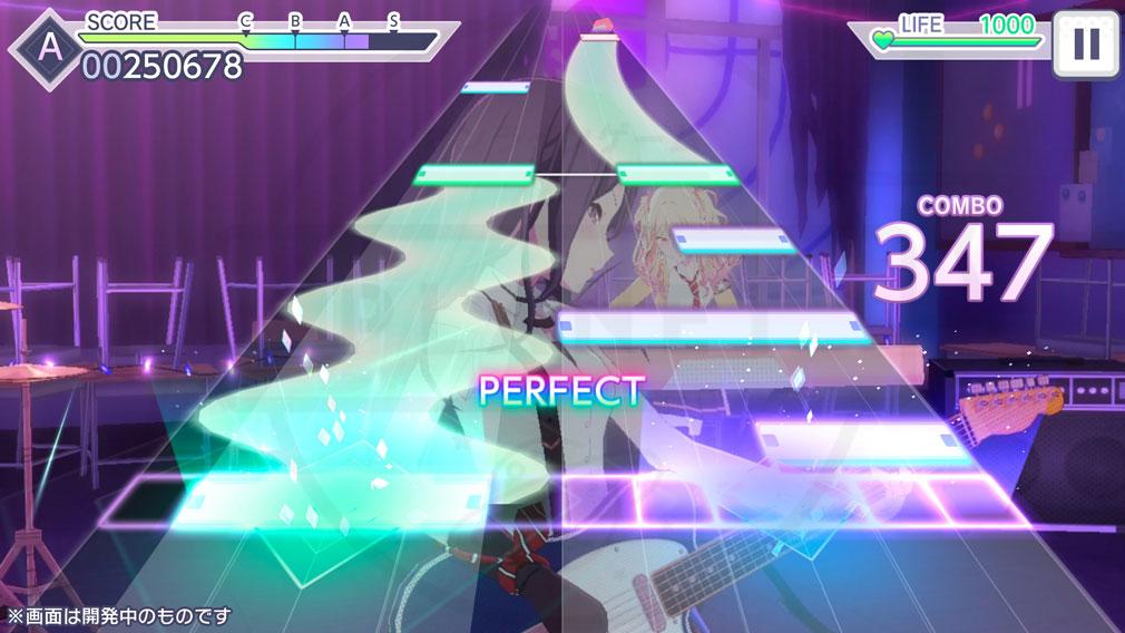 プロジェクトセカイ カラフルステージ! feat.初音ミク リズムゲームプレイスクリーンショット
