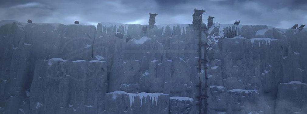 ゲームオブスローンズ Beyond the Wall 『The Wall』と呼ばれる『壁』紹介イメージ