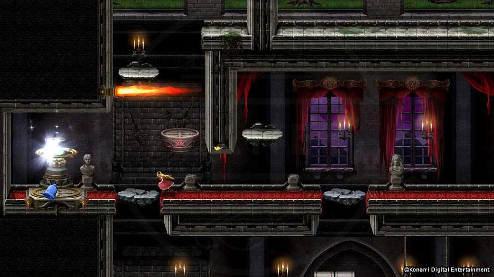 悪魔城ドラキュラ Grimoire of Souls(ドラキュラGoS) アイテム使用スクリーンショット