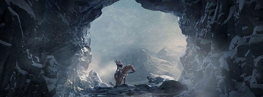 """ゲームオブスローンズ Beyond the Wall 冥夜の守人の総帥で、またの名を""""血斑鴉""""、後に三つ目の鴉として知られる『ブリンデン・リヴァーズ』紹介イメージ"""