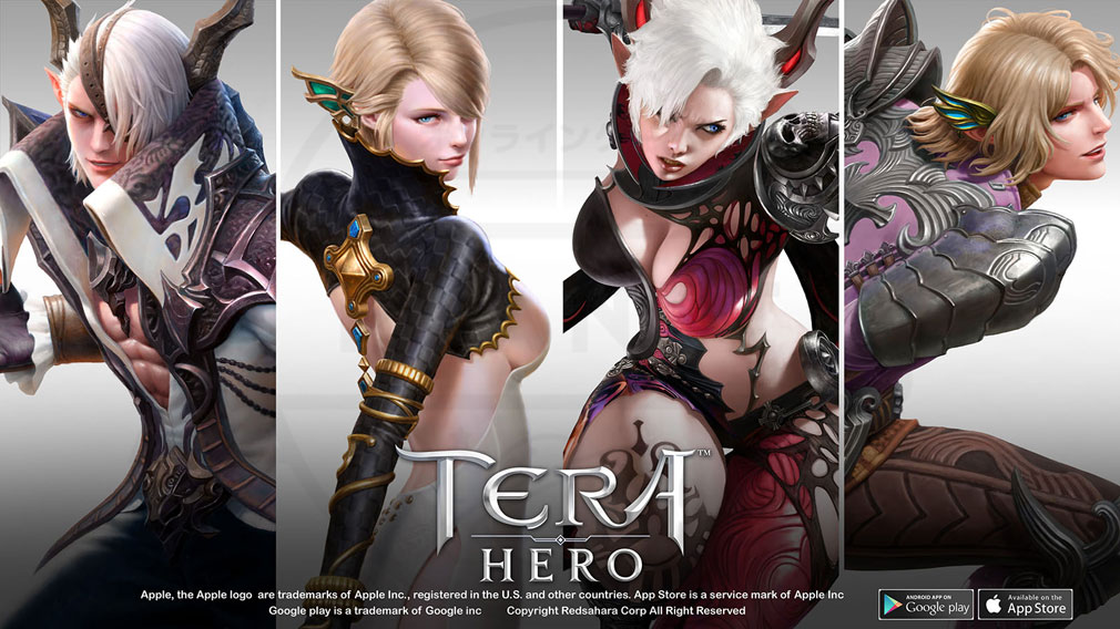 TERA HERO(テラヒーロー) キャラビジュアル紹介イメージ
