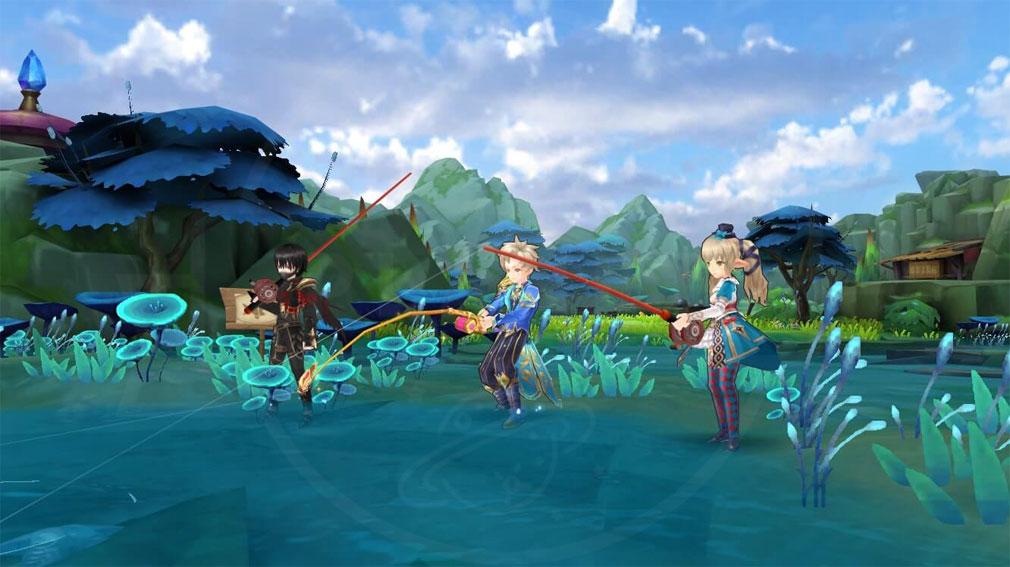 ステラアルカナ 愛の光と運命の絆 『魚釣り』スクリーンショット