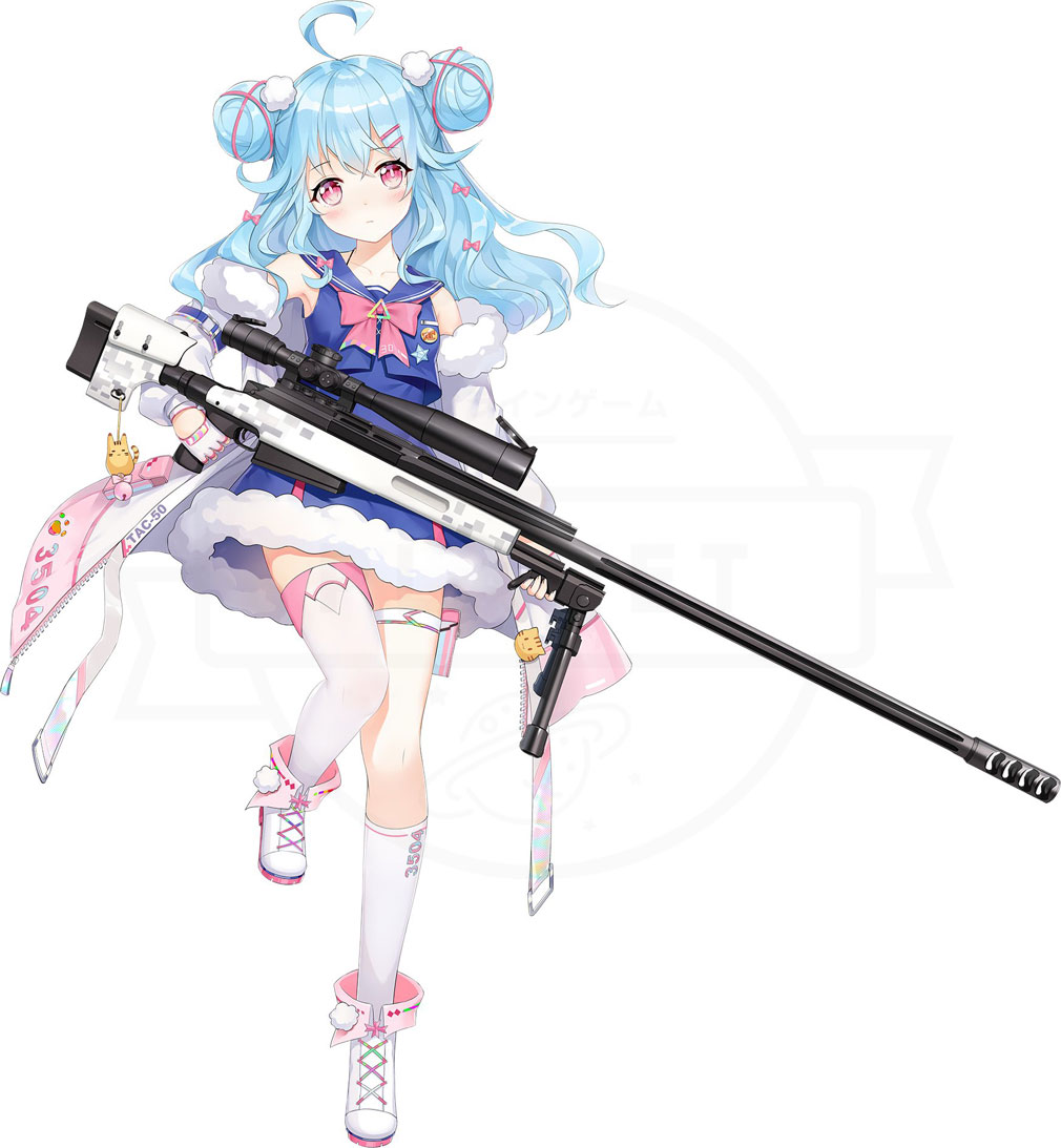 プロジェクト シルバーウイング(プロシグ) ライフル(RF)『TAC-50』キャラクター紹介イメージ