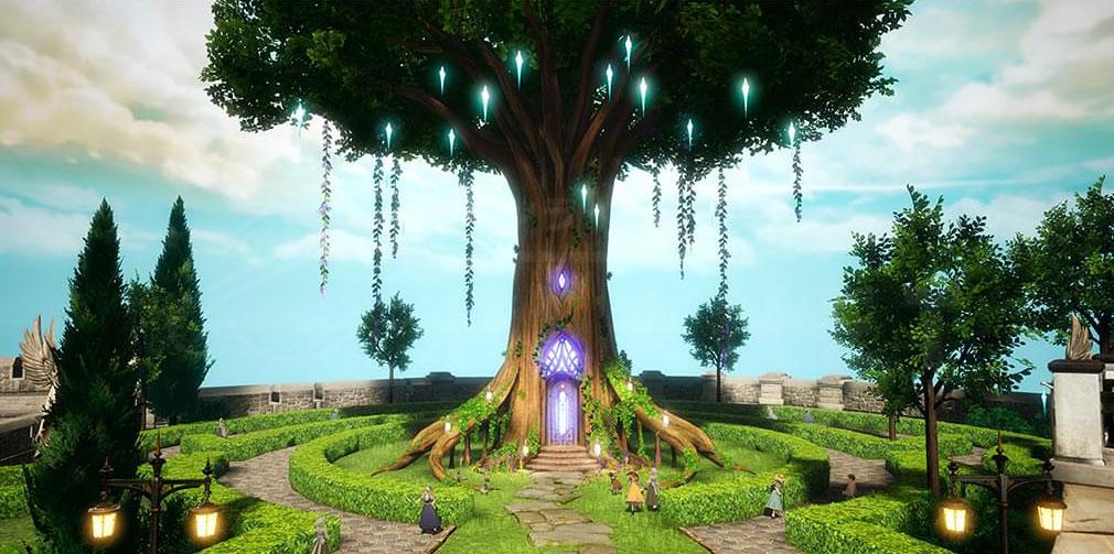 GRAN SAGA(グランサーガ) 聖木が鎮座しているスクリーンショット