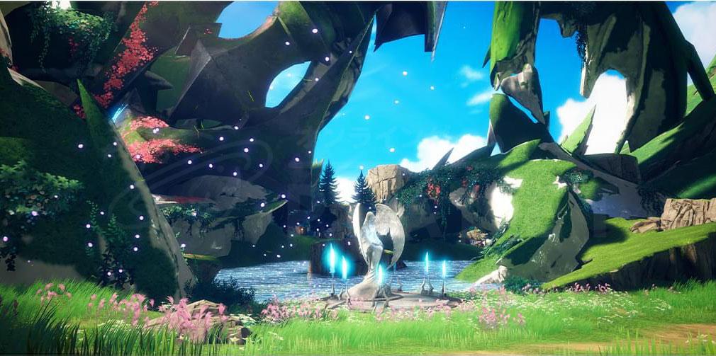 GRAN SAGA(グランサーガ) 女神の祝福を授かった美しい平原『女神の平原』スクリーンショット