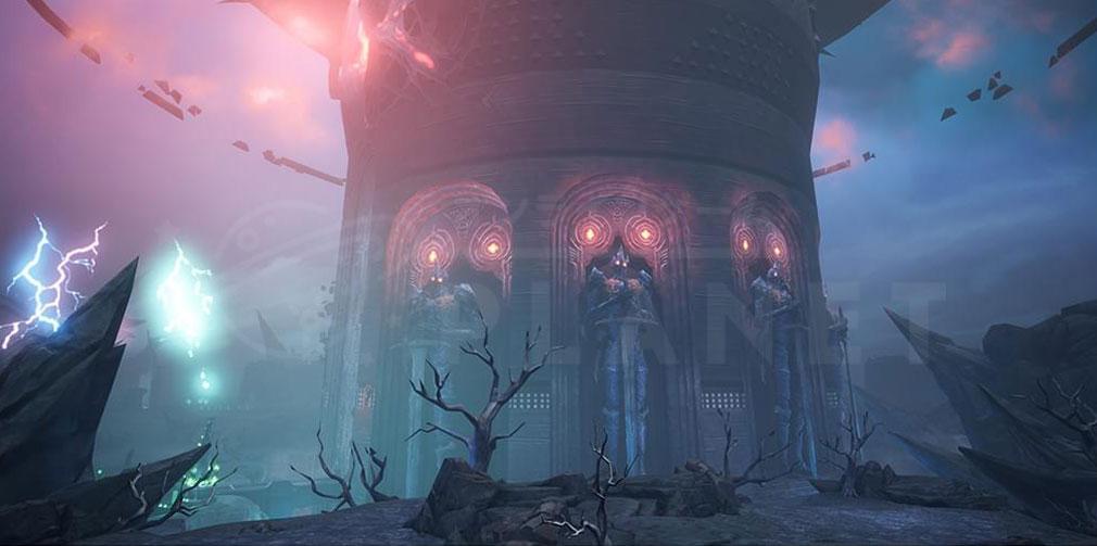 GRAN SAGA(グランサーガ) 霧に覆われた教団の本拠地『霧の要塞』スクリーンショット