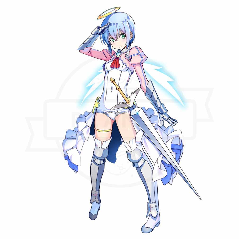 電脳天使ジブリール(電ジブ) ジブリールキャラクター『リカ』紹介イメージ