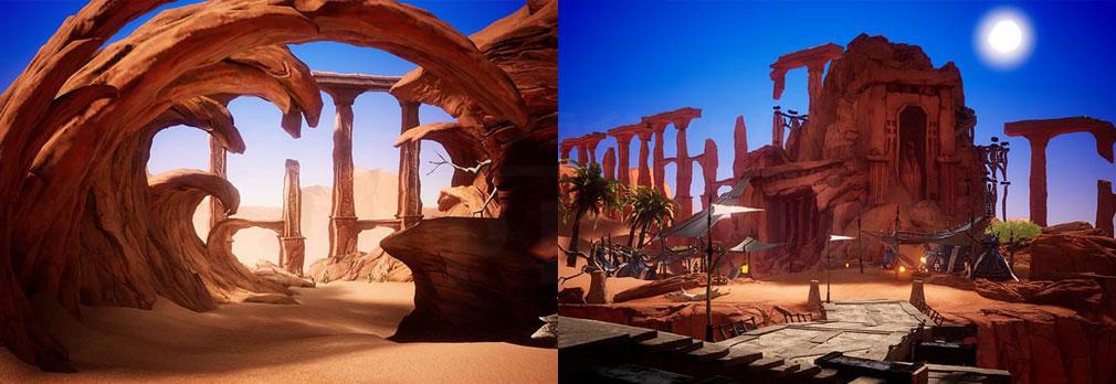 GRAN SAGA(グランサーガ) 地の龍が封印されたと伝わる砂漠スクリーンショット