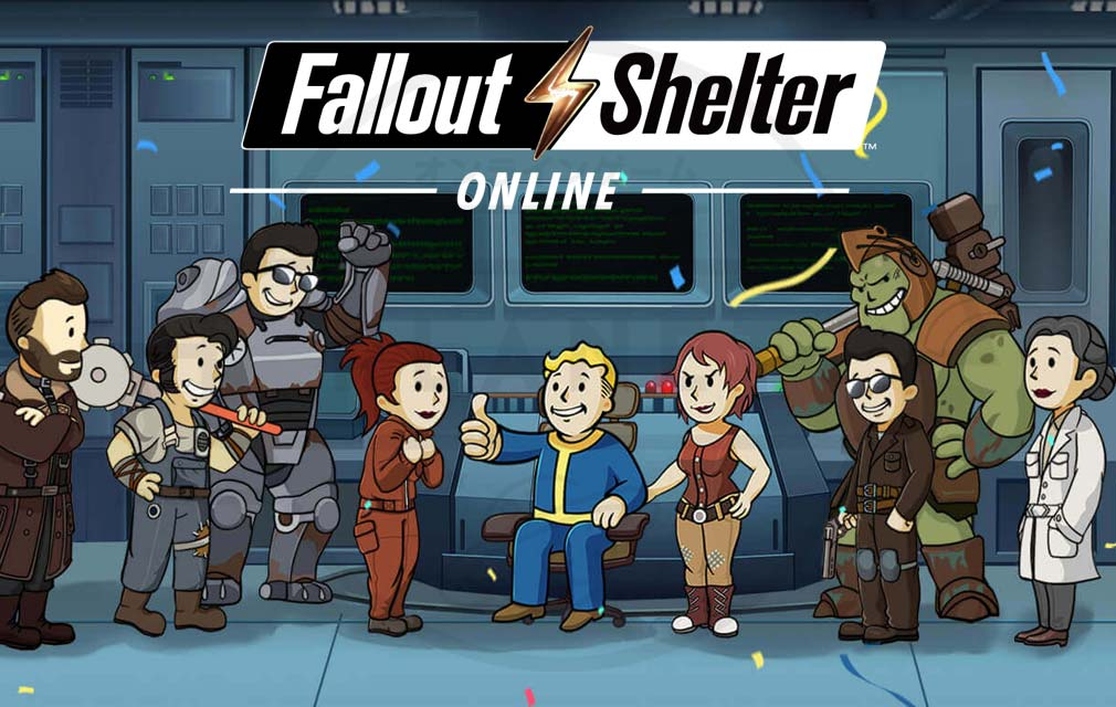 Fallout Shelter Online キービジュアル