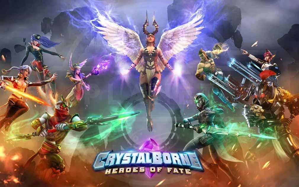 クリスタルボーン:ヒーローズ・オブ・フェイト(Crystalborne)クリフェ キービジュアル
