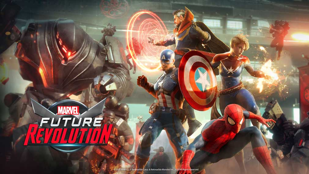 Marvel Future Revolution(マーベル・フューチャーレボリューション) キービジュアル