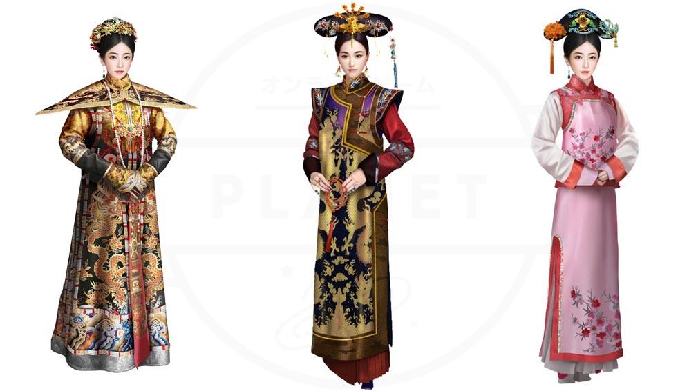 華麗なる宮廷の女たち 『皇妃』『貴妃』『宮人』紹介イメージ