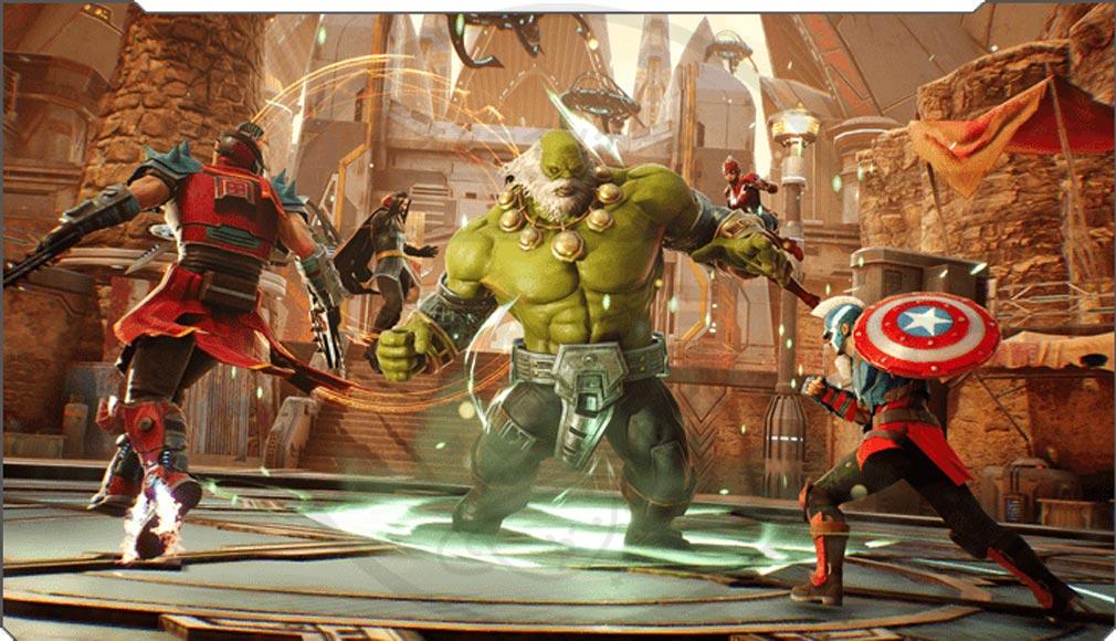 Marvel Future Revolution(マーベル・フューチャーレボリューション) ゲームモード『ブリッツ』紹介イメージ