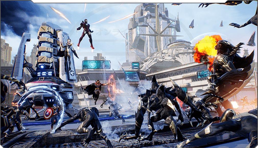 Marvel Future Revolution(マーベル・フューチャーレボリューション) ゲームモード『特殊作戦』紹介イメージ