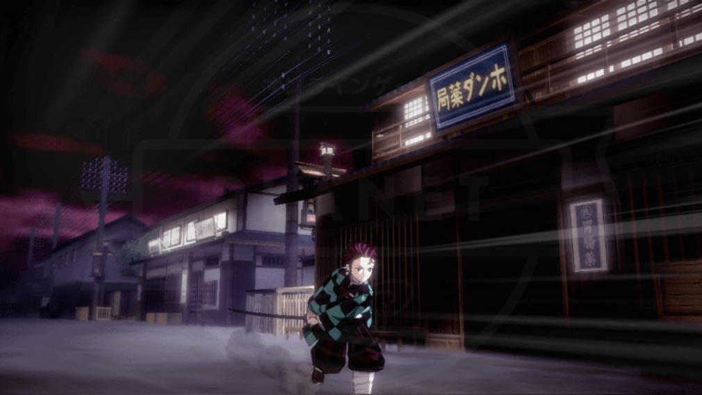 鬼滅の刃 血風剣戟ロワイアル(キメロワ) 『鬼殺隊』の移動スクリーンショット